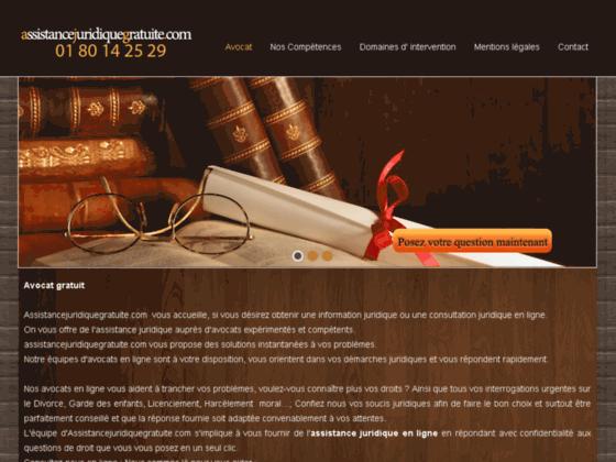 Le site web Homme juridique