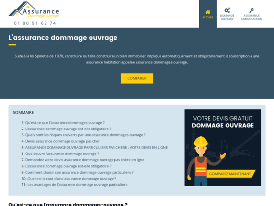 Assurance Dommage Ouvrage