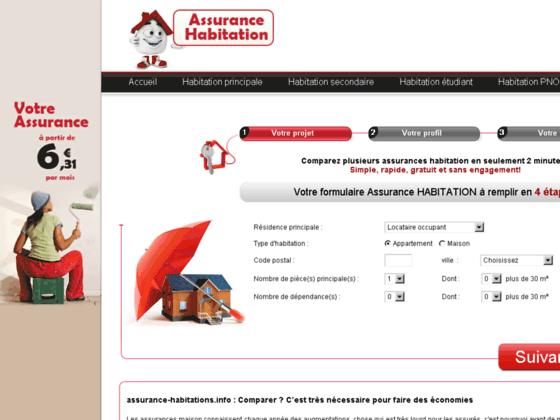 devis assurance habitations