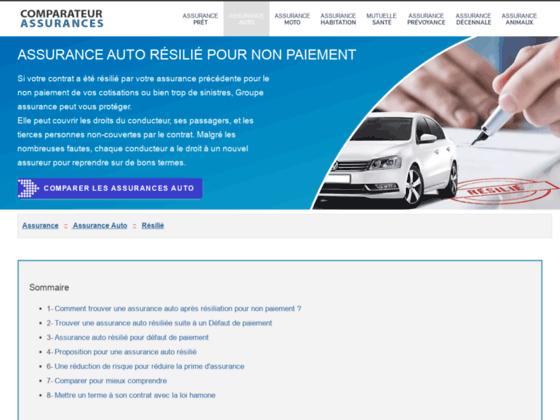 assurance paiement