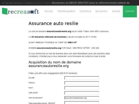 Assurance auto résilie | Assurance auto pour résilie