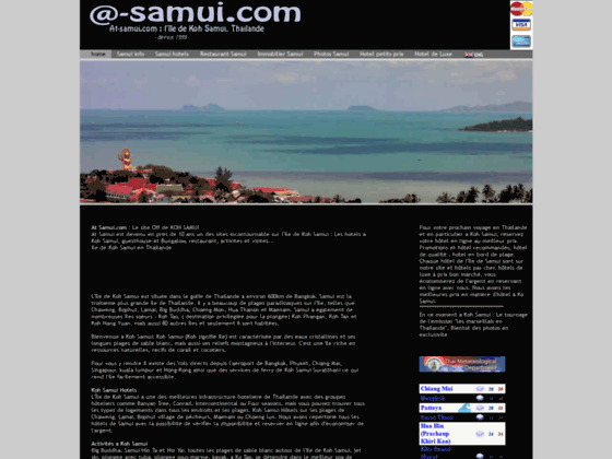 AT SAMUI | l'Ile de KOH SAMUI en THAILANDE