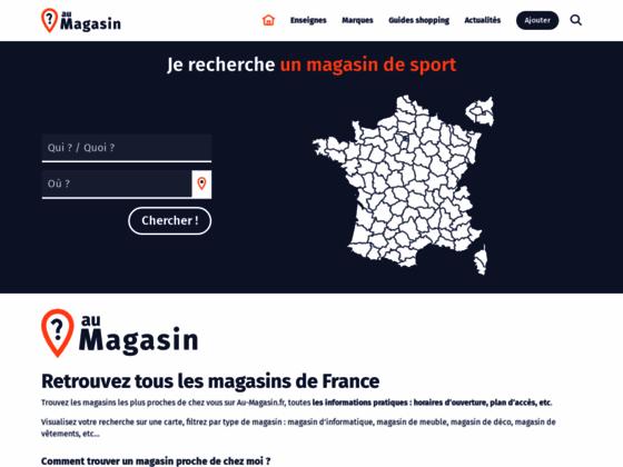 Horaires, téléphone, avis sur Au-Magasin.fr