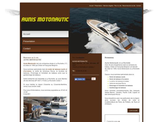 Location bateau Charente : AUNIS MOTONAUTIC