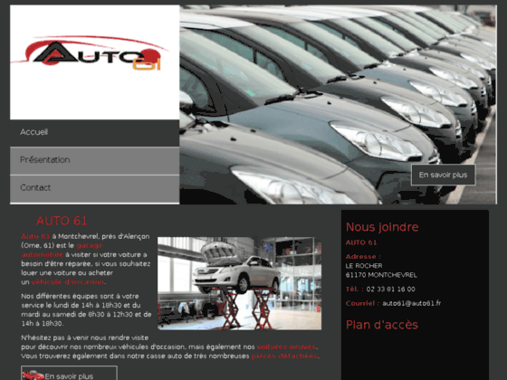 Garage automobile Orne