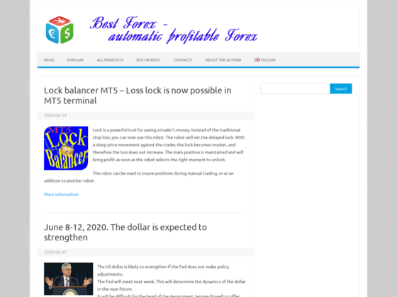 Скриншот сайта auto-forex-trading.com