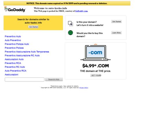 Скриншот сайта auto-kasko.info