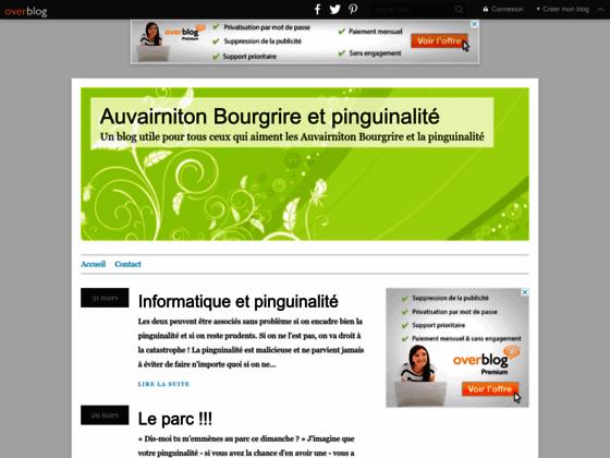 Auvairniton Bourgrire - Un blog humoristique