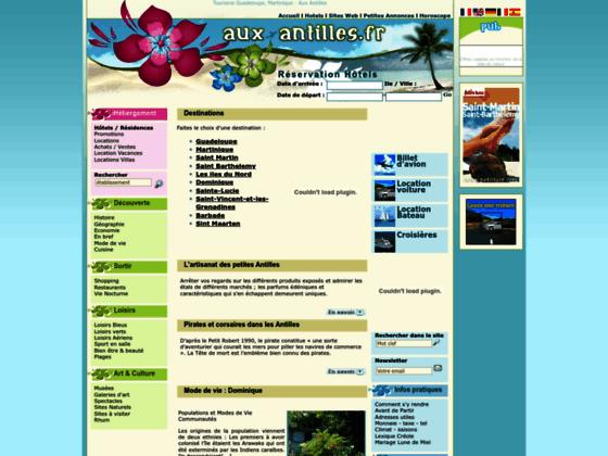 Hebergement Guadeloupe