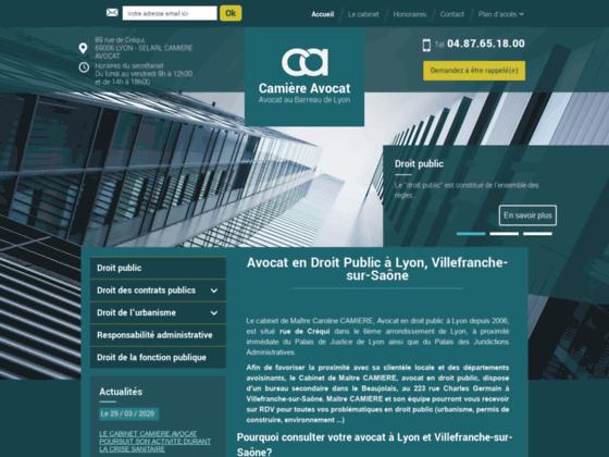 Me Camière: droit de l'urbanisme Lyon