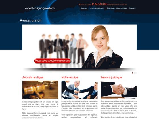 Pour une aide juridique en ligne