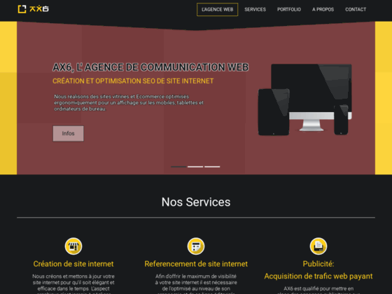 Agence de creation de site web