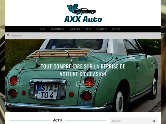 Axxauto - boutique de vente pièce auto en France