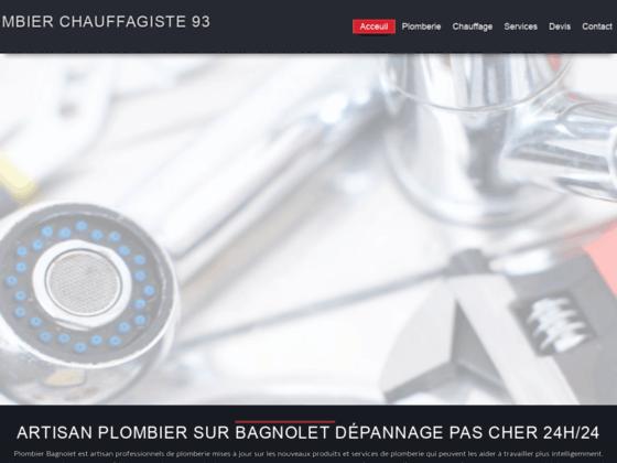 Artisan plombier a Bagnolet