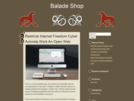 baladeshop.com