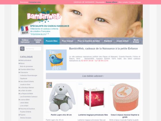 Bambinweb : Boutique de vente en ligne.