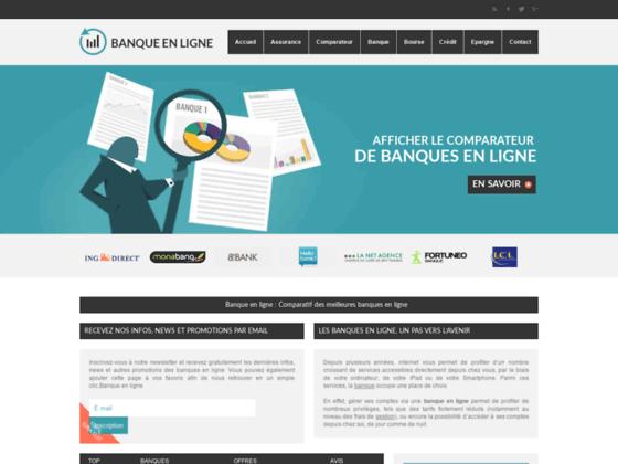 BANQUE EN LIGNE Banques & Banques sur internet sur banqueenligne.org