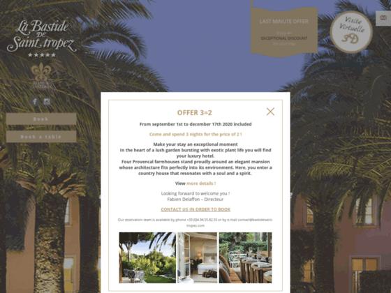 Hotel La Bastide de St Tropez