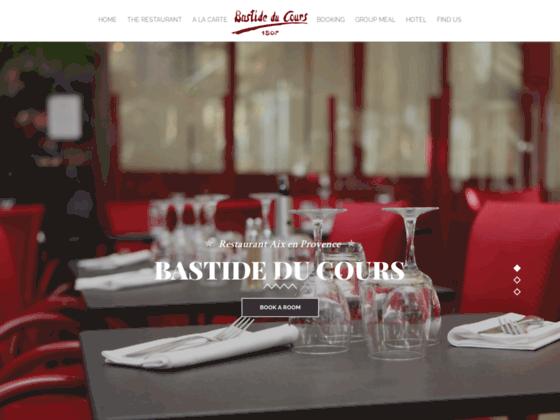 Restaurant à Aix:déjeuner et diner à hotel Bastide