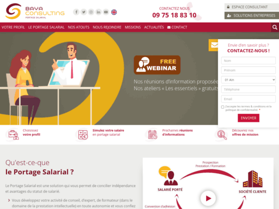 Conseil en portage salarial | Baya Consulting
