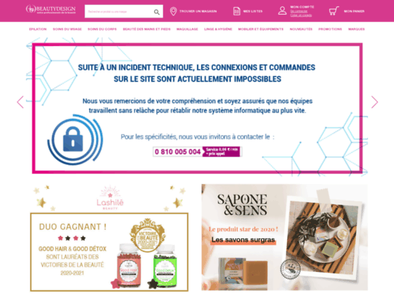 BeautyDesign-Online.com  Grossiste esthetique | Fournisseur de produit et matériel d'esthetique