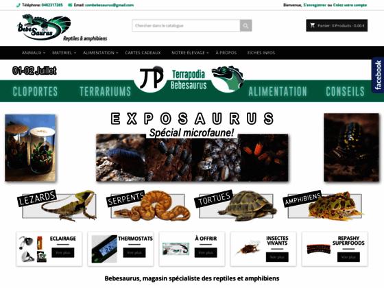 Bebesaurus, élevage et vente de lézards