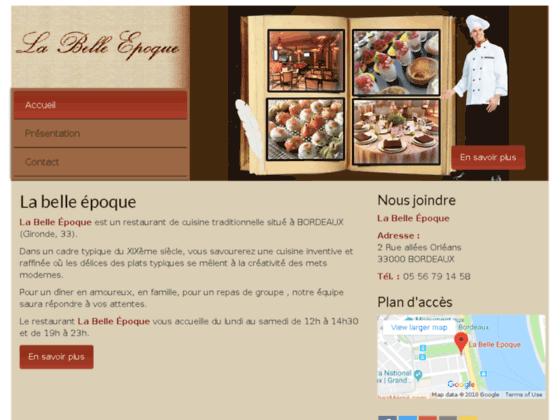 La Belle �poque: Restaurant  33