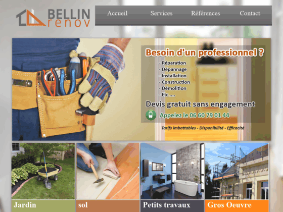 Bellin Multiservices auto entrepreneur