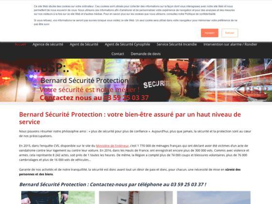 Entreprise de surveillance à Lens : BERNARD SÉCURITÉ PROTECTION