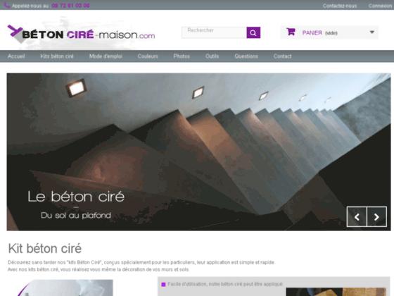 Béton ciré - Kit beton cire de qualité professionnel en vente sur Béton Ciré maison.