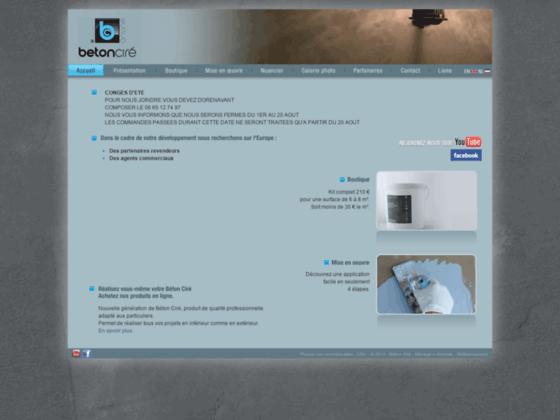 site beton cire