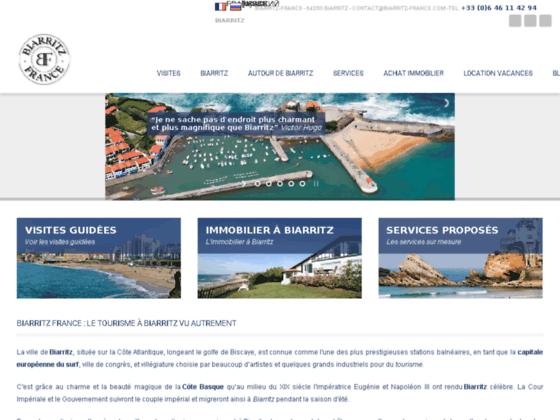 Séjour touristique à Biarritz sur la côte basque