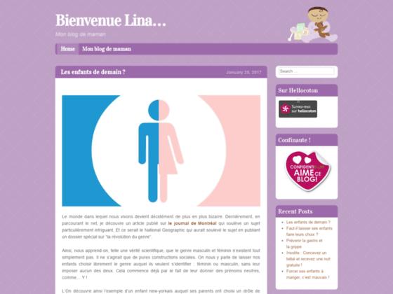 Bienvenue Lina... | Mon blog de maman
