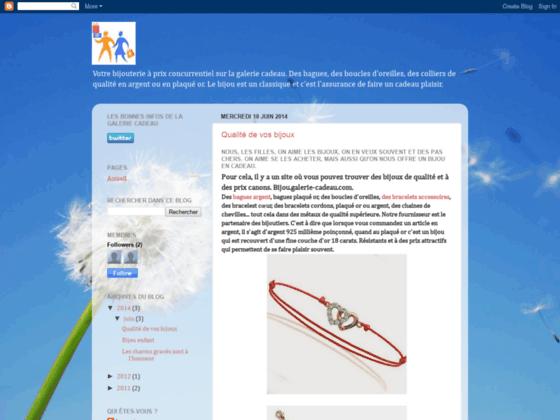 le blog de la bijouterie de la galerie cadeau