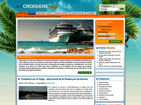 Blog croisieres
