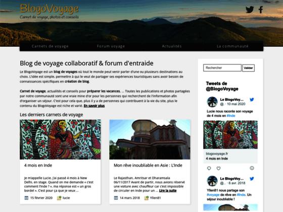 Le BlogoVoyage » Blog de Voyages