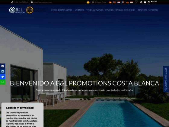 Costa Blanca propriétés