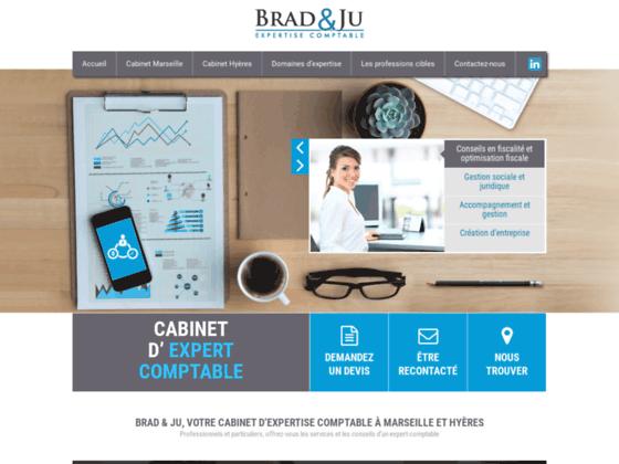 Cabinet expert comptable Marseille (13) - Brad & Ju -