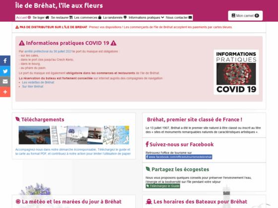 Ile de Bréhat - Syndicat D'initiative de l'île de Bréhat - hébergements, commerçants, randonnées, in