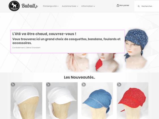 bubull.fr création textile foulards chapeaux