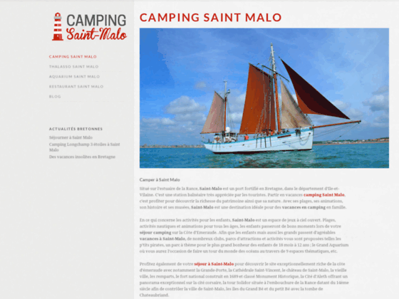 Camping Saint Malo : campings avec piscine
