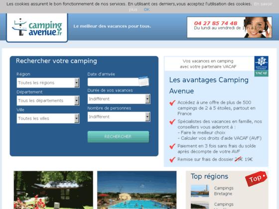Bon plan camping à prix discount