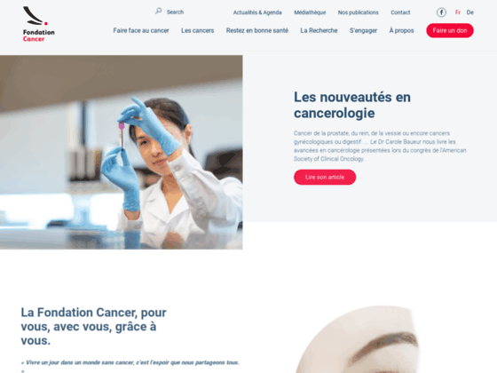 Photo image Fondation luxembourgeoise contre le cancer