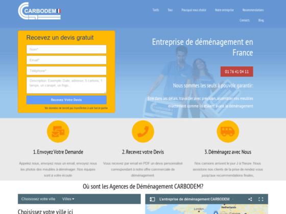 D�m�nagement Mulhouse - CARBODEM