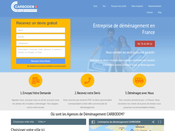 D�m�nagement Colmar - CARBODEM