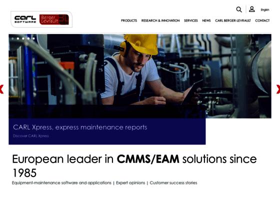 CARL Software : Progiciel GMAO, gestion et maintenance des équipements