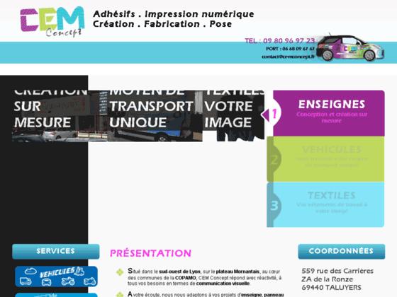 CEM Concept Agence Communication Rhône-Alpes