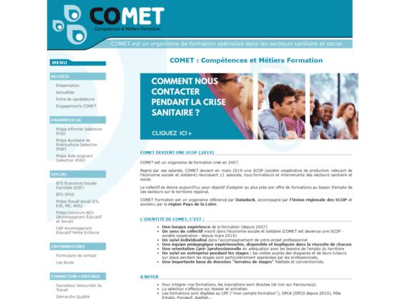 COMET Compétences & Métiers Formation