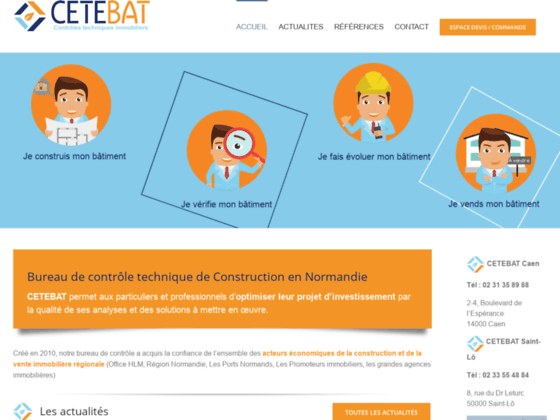 Cetebat: L'expertise de l'habitat