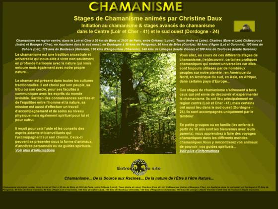 Stages de chamanisme avec Christine Daux